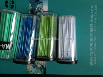Disposable Medical Colorful Dental Micro Brush Applicator