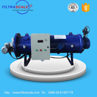 Filtrascale electrocoagulation machine for treating Fracturing fluid in oil gas field