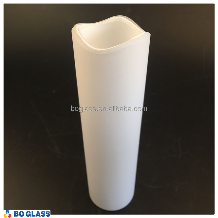 mouth blown clear opal white glass tubes for sale /quartz glass tube