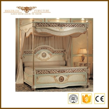 New Wholesale Hot sale hand carved solid wood bedroom furniture