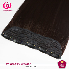 Factory cheap 100% brazilian human hair flip in hair extension