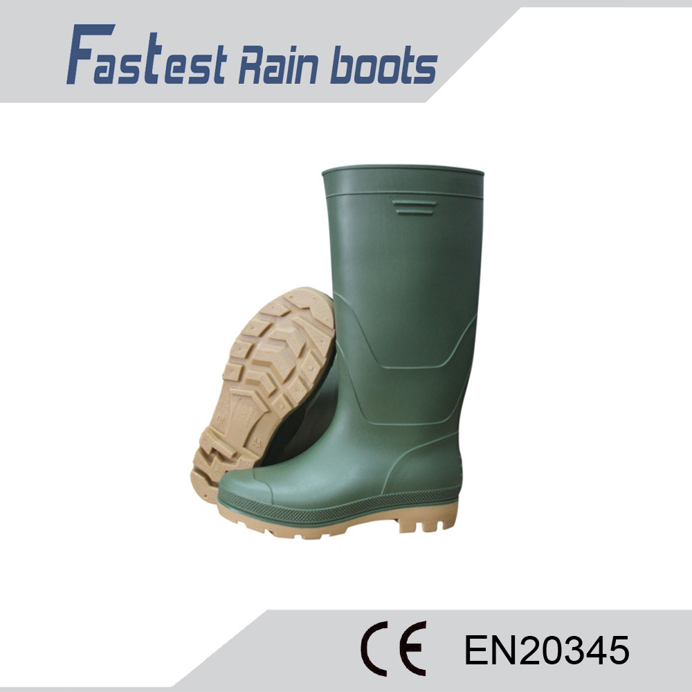 FT8101 High Quality Oils And Acids Resistant Safty Pvc Boots