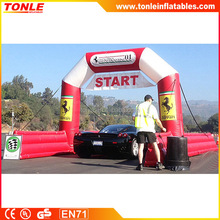 hot sale Inflatable Archway/ inflatable Finish Line Chute