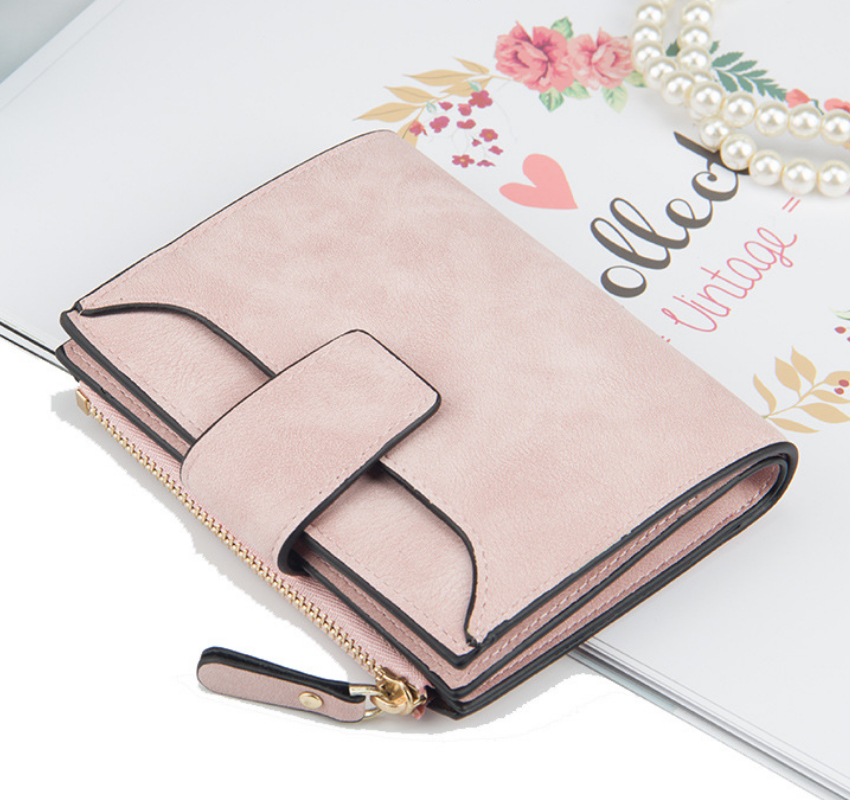 Wholesale small travel bifold magazine clutch purse