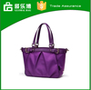 Promotional hand bag tote shopping travelling nylon and PU waterproof bags