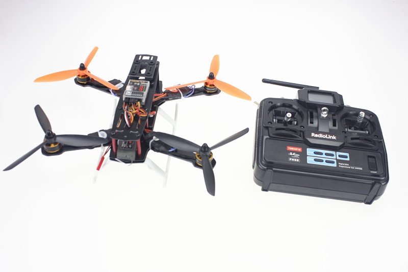 F09205-A 250 Mini 250 Carbon Fiber 4-Axle Aircraft Frame RTF Kit with Radiolink T6EHP-E TX&RX NO Battery Charger