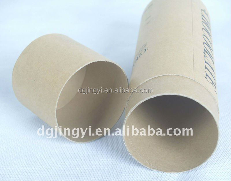 Newly paper round tube/cylinder candle packaging boxes in china