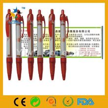 gift glitter pen pen,promotional pen with pull out paper,professional retractable cheap banner pen