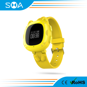 GPS Children Watch SOS Emergency Anti Lost GSM Wrist Watch ,Gps Tracking Device For Kids