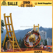 Salle Big Rides! China Manufacturer Amusement Park Flying UFO Rides Adult Mega Disk Outdoor Theme Park