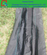 PP woven weed mat/ground cover /weed barrier for agriculture with 3 years UV in big rolls