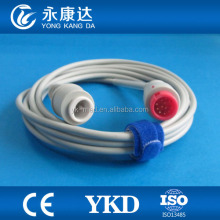 Mindray blood pressure transducer IBP cable for PM series to edward