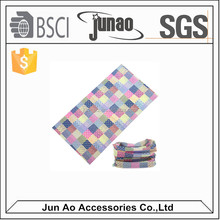 Wholesale Microfiber Multifunctional Seamless Tube Bandana,face mask bandana