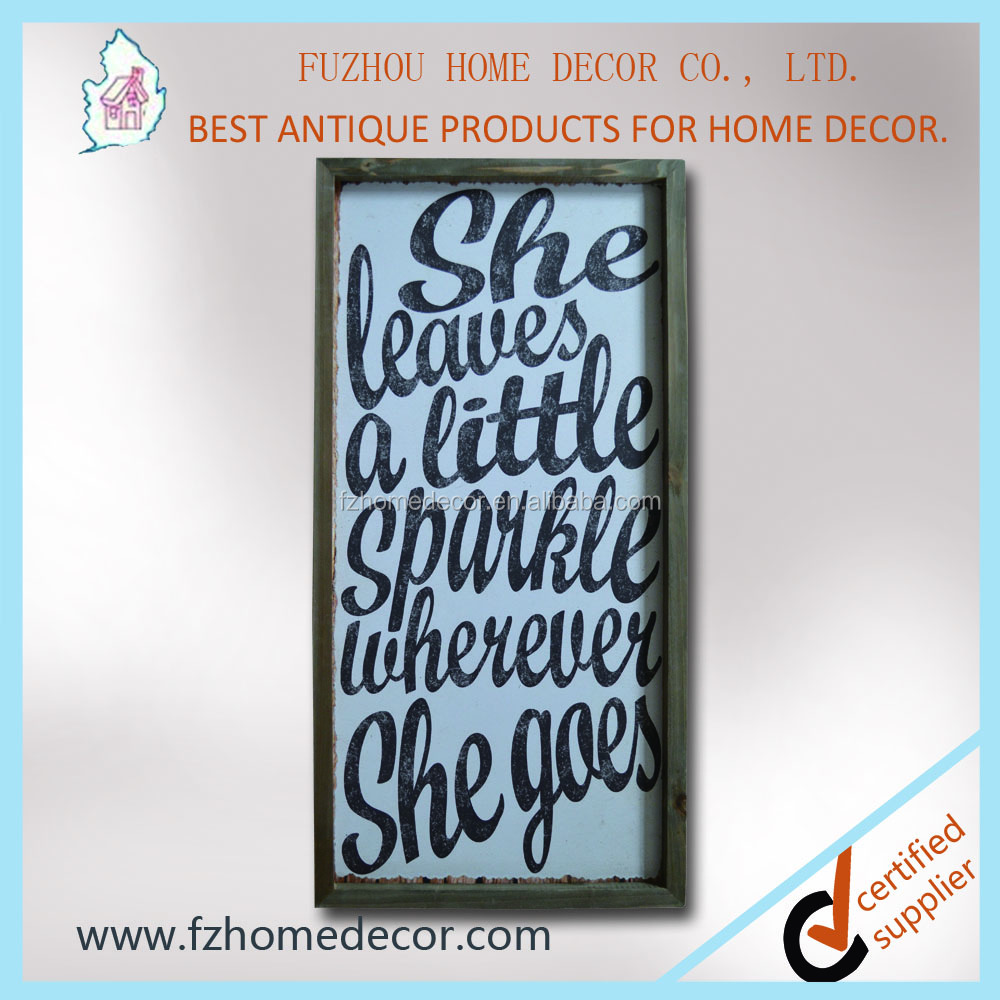 Top sellers!!! Vintage decorative wood a frame sign inspiration words wall plaque