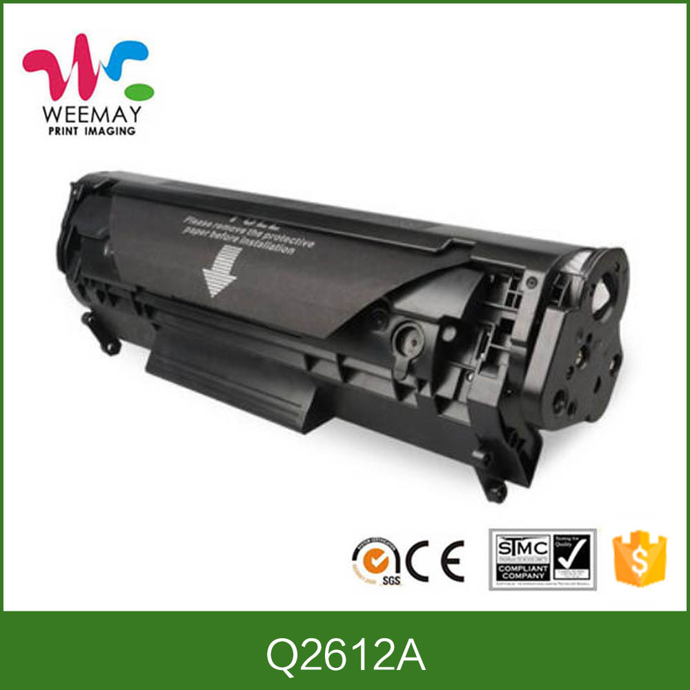 Compatible for hp 2612A printer toner cartridge from dubai