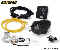 AUTOFAB -- New System Adjust SQV2 blow off valve With Electronic Controlled BOV for Diesel Vehicles Black AF-DBSQV2-BK