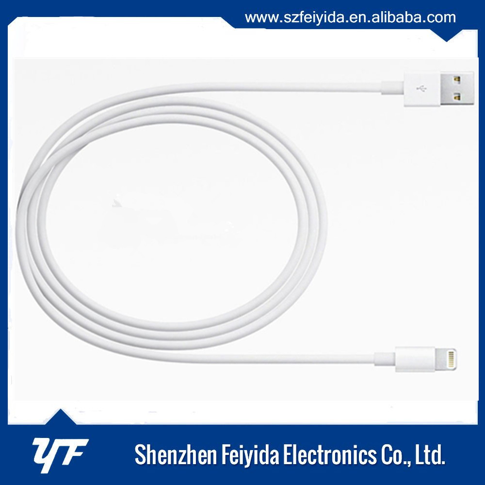 TPE material Original C 48 plug MFI certified 8 pin usb cable charging and data sync for iphone 6s 5s 6 6plus