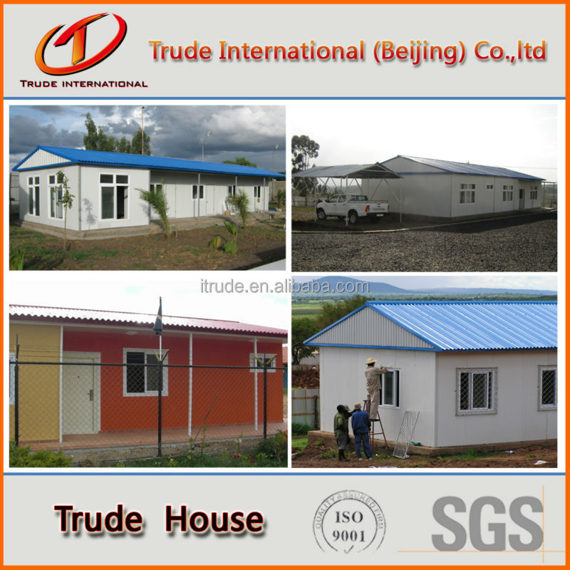 Eps color steel sandwich panel low cost prefab house buy - Sandwich panel homes ...