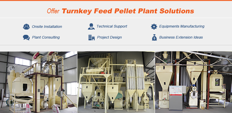 Industrial automatic feed mill business plan animal chicken poultry feed milling machine equipment for sale