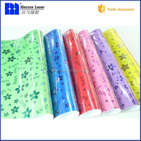50*70cm paper sheet waterproof christmas embossed gift wrapping paper