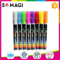 Liquid Chalk Marker&Ball-Point Pen.Draw all pictures in non prous surface. Best for kids