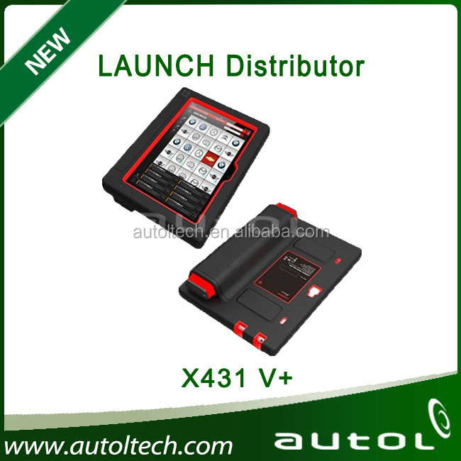 Original X 2016 Launch X431 V+ Global Version Full System Scanner Wifi/Bluetooth Support One-Click Update