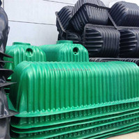 Underground used septic tank/ plastic material tank, Plastic PE household biogas septic tank for sewage treatment