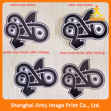 2016 Custom Die Cut Stickers,printer cutting sticker,transparent stickers