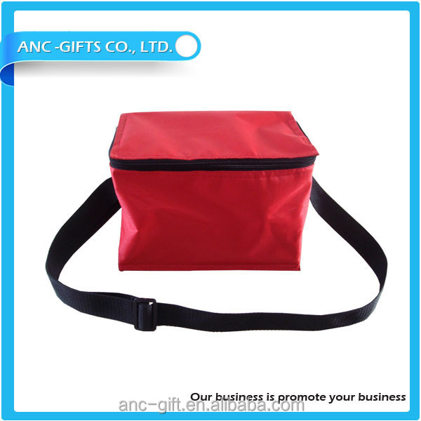Promotional custom logo printed ice pack for frozen food nylon bag cooler cheap