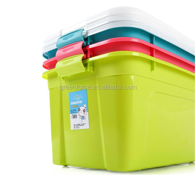 Plastic ricestorage container rice box with handle food grade plastic PP storage rice container