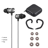 Snake Veins Metal Wired Earphone In
