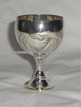 Sterling Silver communion cup brass communion cup wine cup