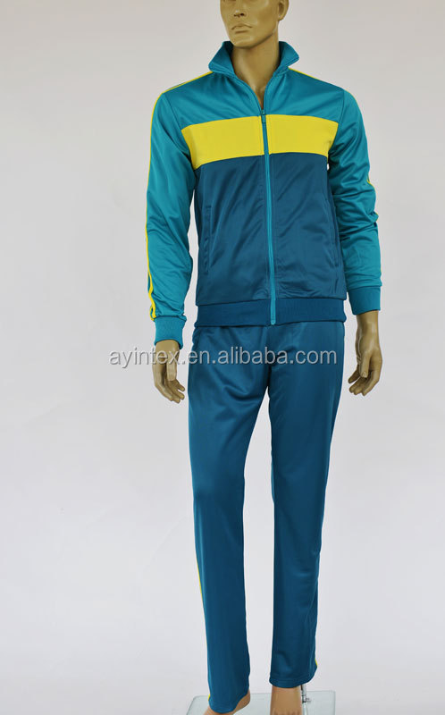 Directly factory sale 100%polyester tricot mens womens running sport wear jogging suit