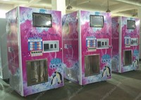 Ice vending machine in serive equipment/ 24 hours service vending ice machine