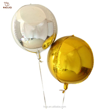 Party decorative balloon 18 inches of 4 d sphere to 22 inches of solid aluminum foil balloons balloon
