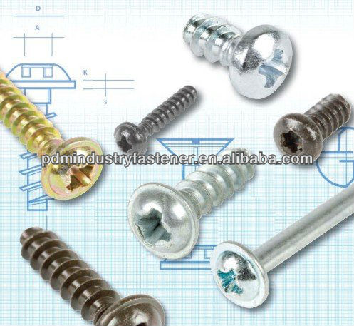 pt thread forming screw for plastic