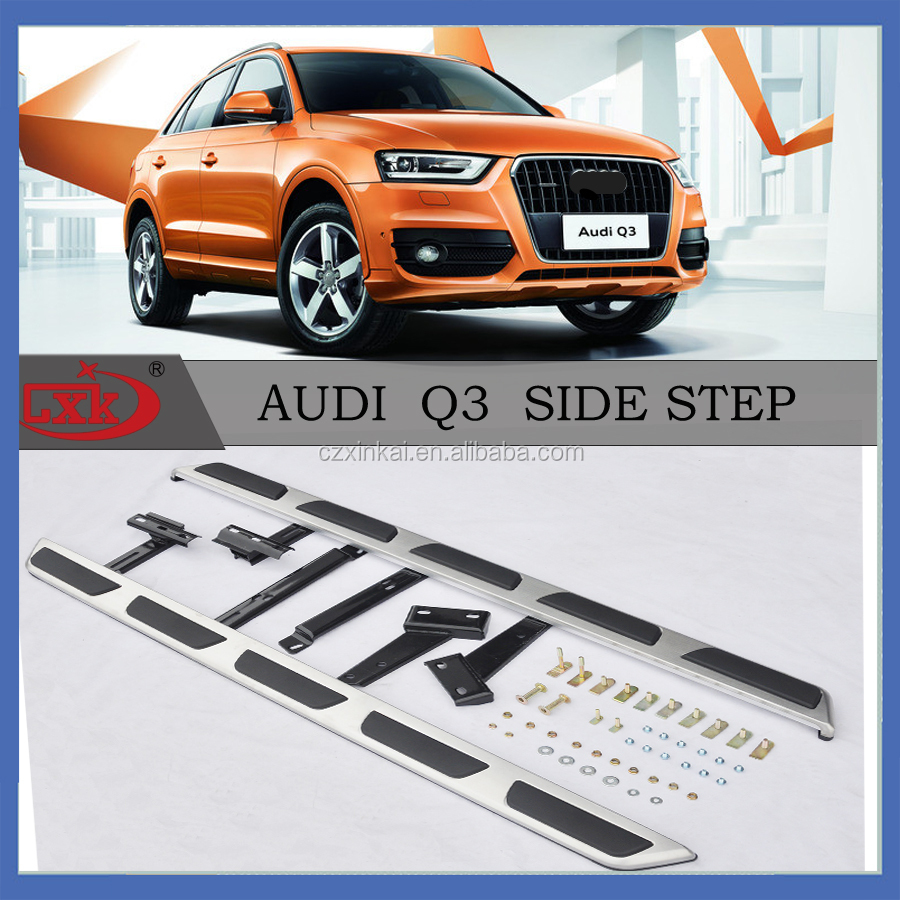 New product auto parts Stainless steel Side Steps/Running Boards for Q3 Auto Accessory