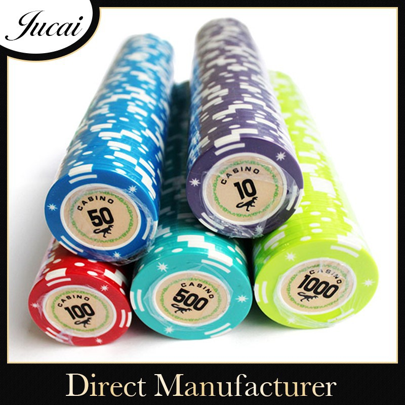 13.5g casino dedicated ABS poker chips for sale