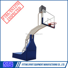 Mobile Electro-Hydraulic Basketball Stands fitness Equipment Basketball Hoop/Goal