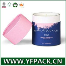 Colorful Printing Yifeng Factory Candle Box Paper Packaging Gift Round Cylinder Boxes