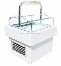 D-K850AN-S Small island cake display cooler/Commercial sandwich showcase cabinet/fridge for sushi