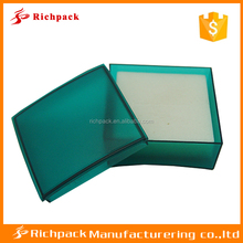 Wholesale small many color assorted jewelry packaging plastic boxes with foam