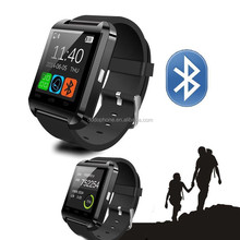 Cheap Smart Watch 2013 Sport Water Resistant Bluetooth Smart U8 Watch with Camera Bluetooth Call SMS Reminder Pedometer