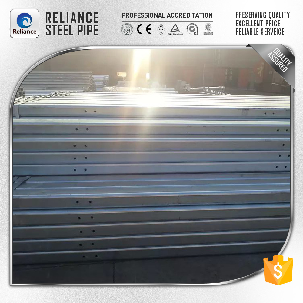 GALVANIZED STEEL SQUARE TUBE PROFILE