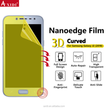 Full Size Nanoedge 3D Transparent TPU High Plastic Film Screen Protector For Samsung J2 Pro 2018