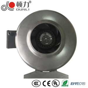 YWF.F2S-315 Duct Fan Centrifugal Fan 315 mm(12.5 in) External Rotor Motor Powered Backward Curved Metal AC Duct Fan