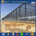 China factory for prefabricated two storey steel structure warehouse