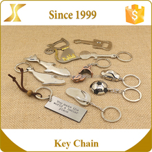 Custom 3d metal zinc alloy unusual metal fashion key chain