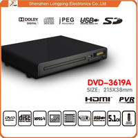 multi region dvd player with usb port for home use