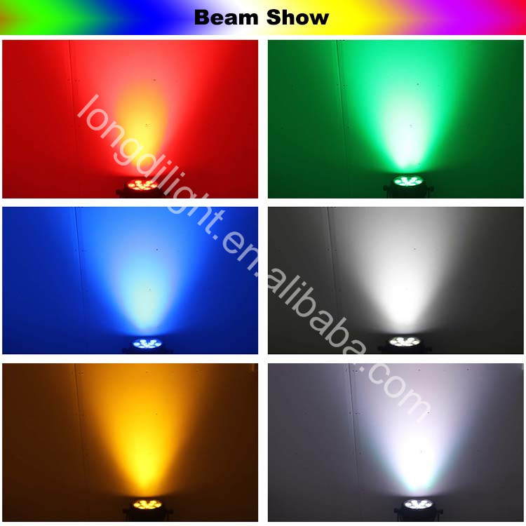 New products led rgbw waterproof light and 9*10w 4in1 par light